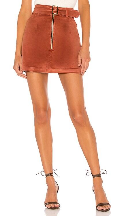 Maddie Velvet Skirt ELLEJAY $27 (FINAL SALE)