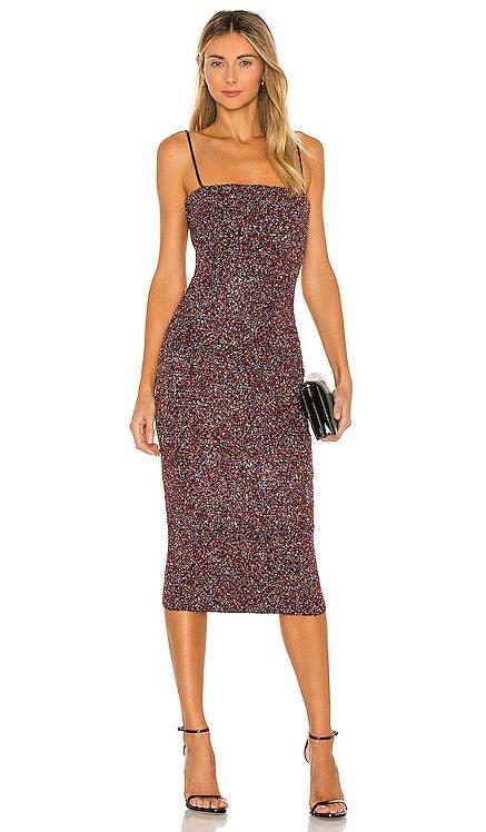 Rosalia Midi Dress ELLIATT $209 NEW