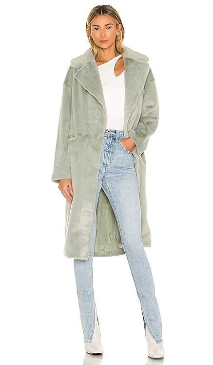 Zelda Faux Fur Coat ELLIATT $240