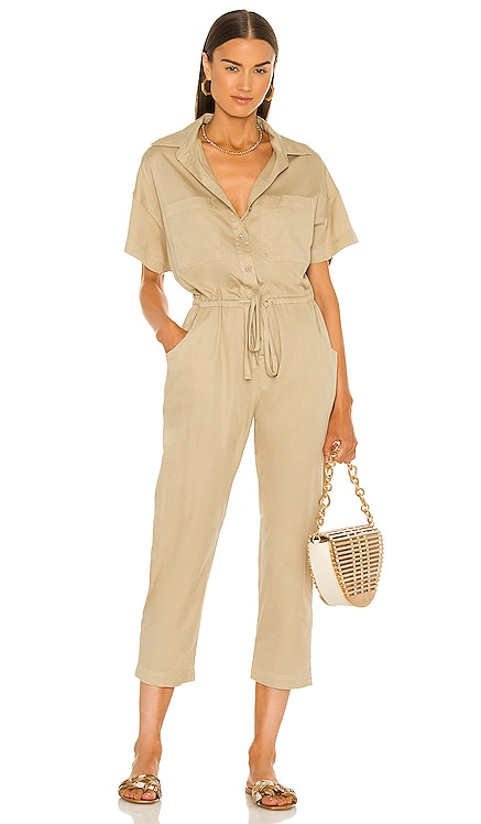 Cotton Short Sleeve Jumpsuit Enza Costa $297
