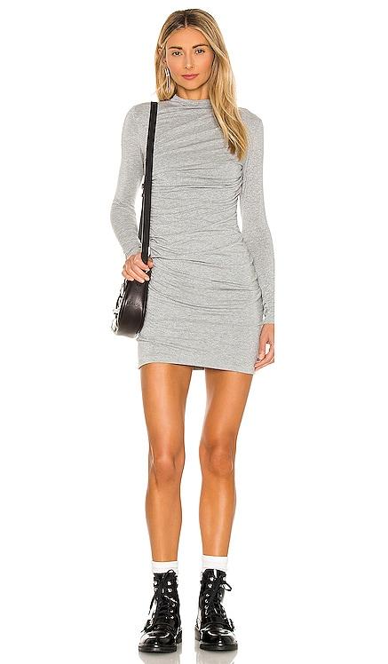 X REVOLVE Lurex Jersey Mini Dress Enza Costa $297