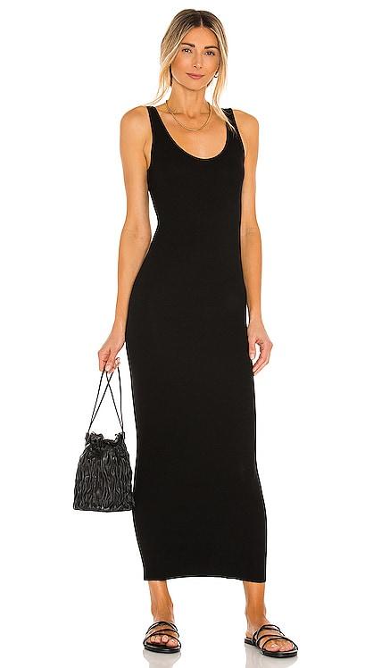 Silk Rib Ankle Length Tank Dress Enza Costa $198 NEW