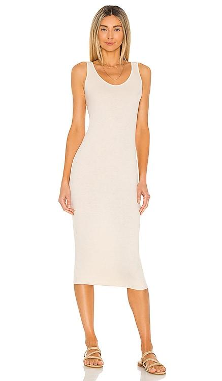 Tank Midi Dress Enza Costa $158 NEW
