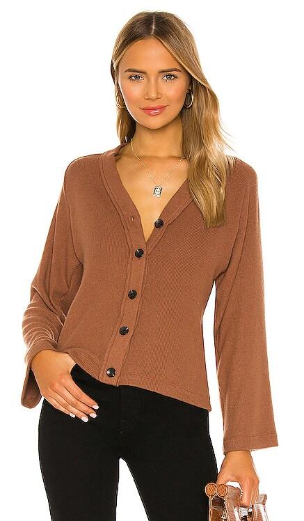 Sweater Knit Cardigan Enza Costa $104