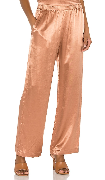 Satin Lounge Pant Enza Costa $198 BEST SELLER