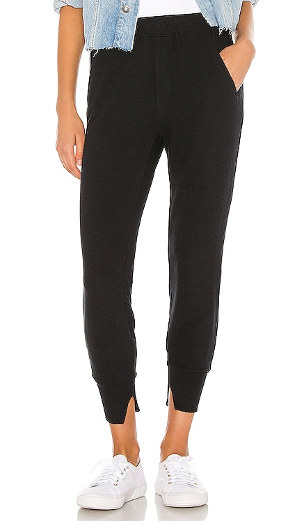 Peached Jersey Split Cuff Jogger Enza Costa $136 NEW ARRIVAL