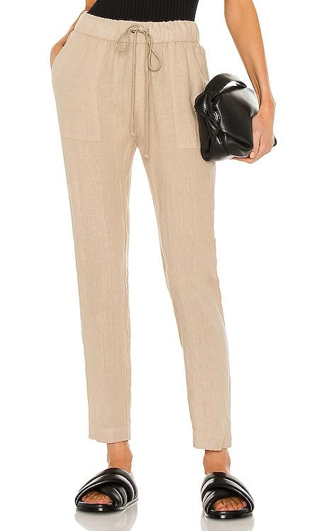 Linen Easy Pant Enza Costa $176 NEW