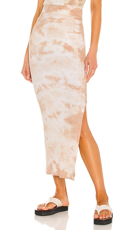 Silk Rib Pencil Skirt Enza Costa $198