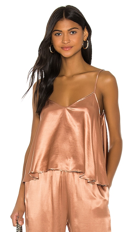Satin Strappy Cami Enza Costa $154 BEST SELLER