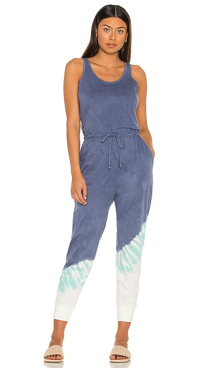Free Spirit Jumpsuit Electric & Rose $168 NEW