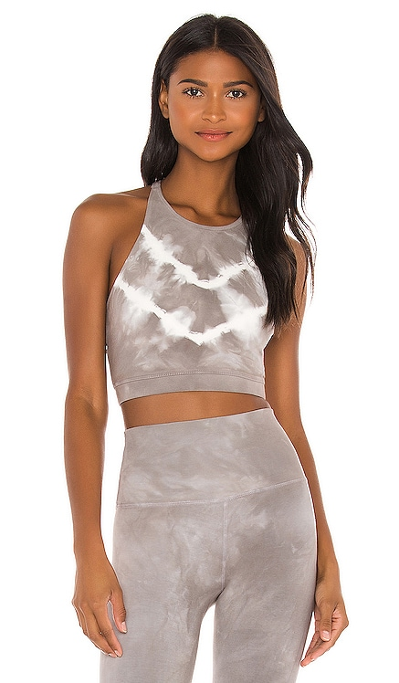 Grayson Crop Bra Electric & Rose $88 NEW