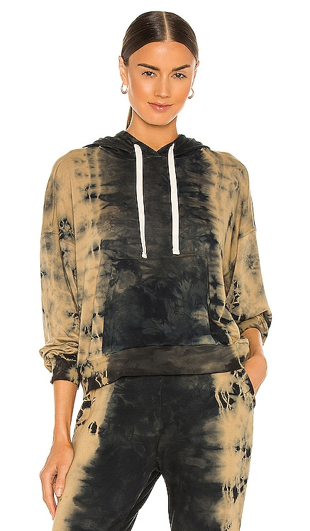 Melrose Hoodie Electric & Rose $168