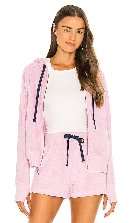 Quimby Hoodie Electric & Rose $148 NEW