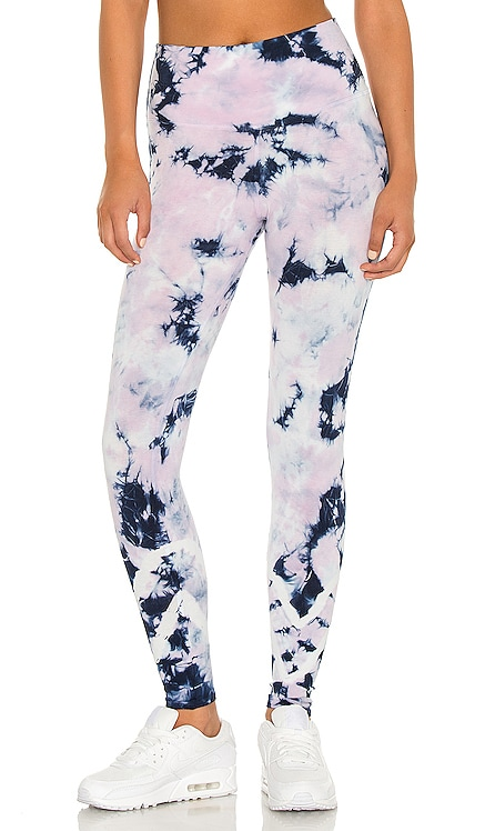 Sunset Legging Electric & Rose $98 NEW