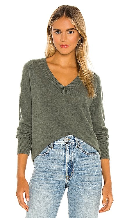Madalene V Neck Sweater Equipment $295 BEST SELLER