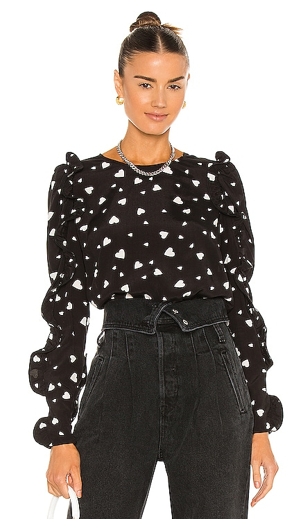 Zammoth Ruffled Sleeve Top Essentiel Antwerp $220