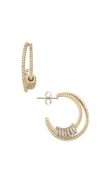 Ring Double Hoop Earrings Ettika $65 BEST SELLER