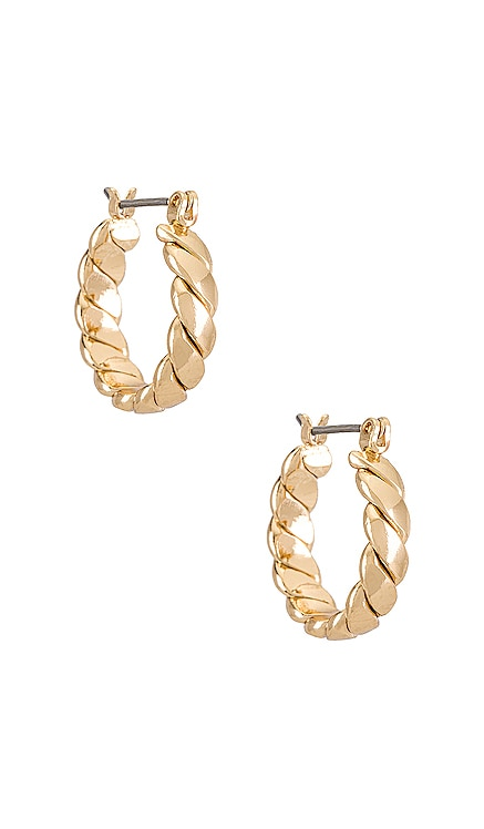 Twist Hoop Earrings Ettika $30 BEST SELLER