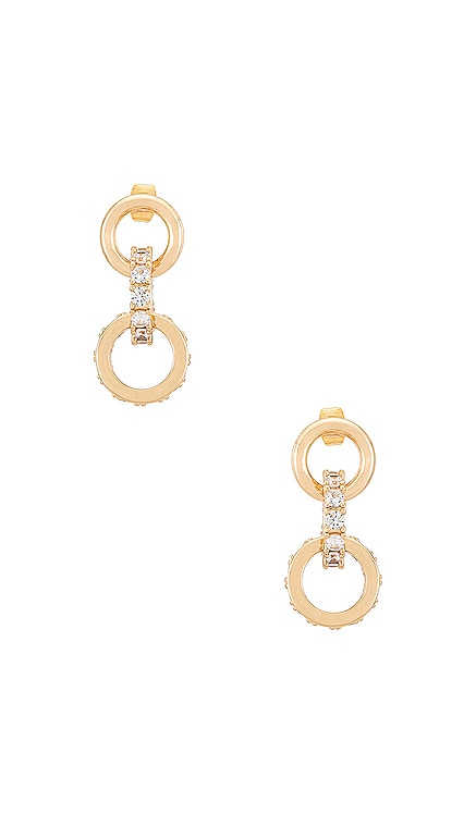 Crystal Ring Earrings Ettika $55 NEW