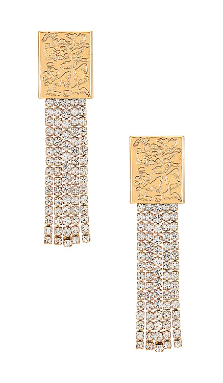 Crystal Dangle Earrings Ettika $45 NEW