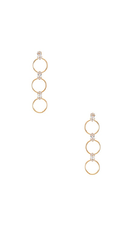 Triple O Earrings Ettika $45 NEW