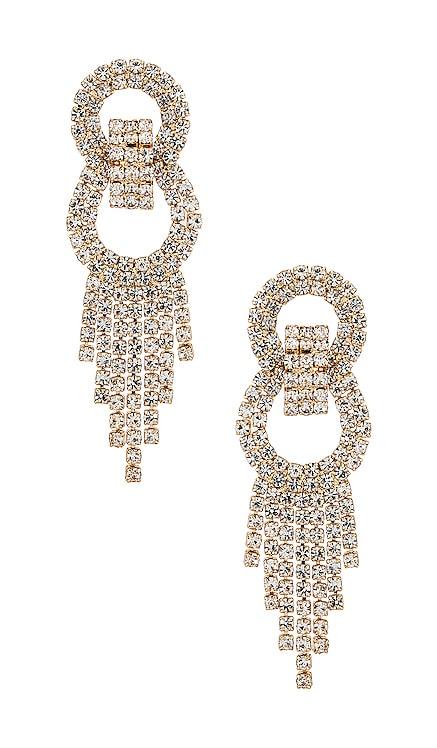 Crystal Fringe Earrings Ettika $50 BEST SELLER