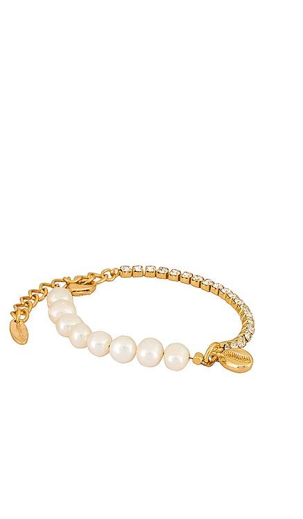 Half Pearl Bracelet Ettika $55