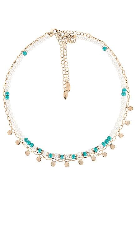 Pearl Layered Necklace Ettika $50