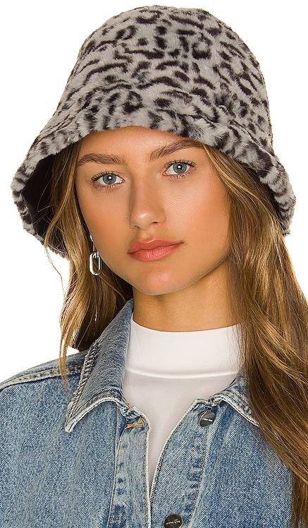 Charlie Faux Fur Bucket Hat Eugenia Kim $225 NEW