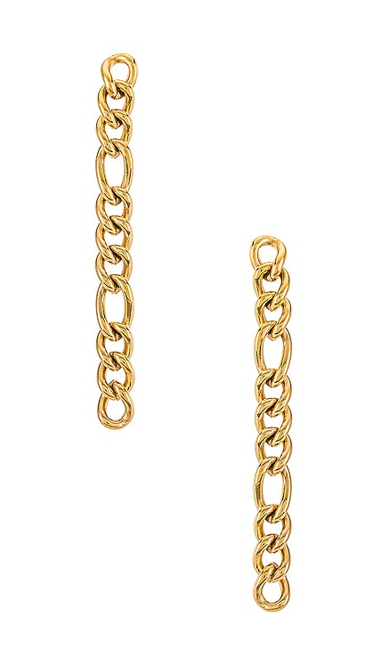Dixi Drop Figaro Chain Earring Ellie Vail $39 NEW