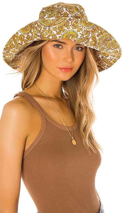 Frederikke Sun Hat FAITHFULL THE BRAND $89 NEW