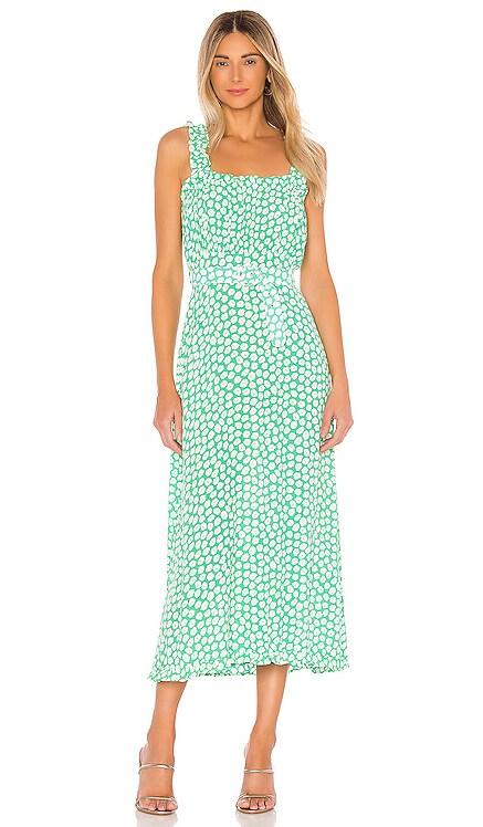 Saint Tropez Midi Dress FAITHFULL THE BRAND $189 NEW ARRIVAL