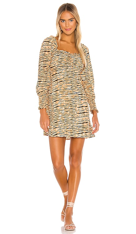 MINIVESTIDO IRA FAITHFULL THE BRAND $169