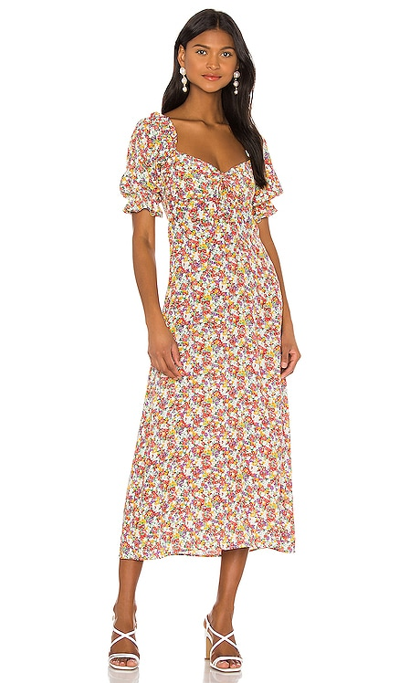 X REVOLVE Lennox Midi Dress FAITHFULL THE BRAND $189