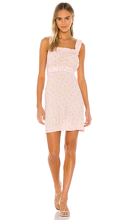 MINIVESTIDO MID SUMMER FAITHFULL THE BRAND $159