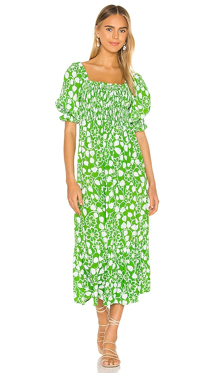 Olinda Midi Dress FAITHFULL THE BRAND $189 NEW