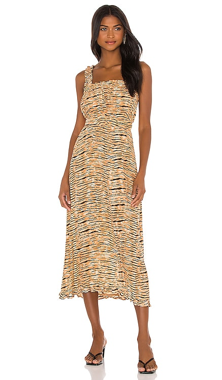 Saint Tropez Midi Dress FAITHFULL THE BRAND $95