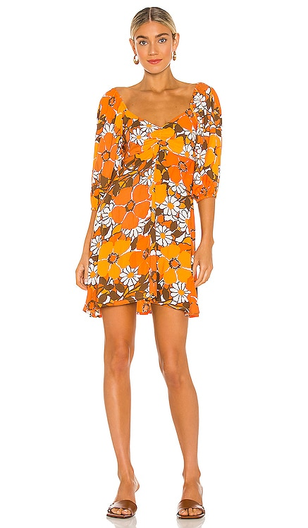 Martine Mini Dress FAITHFULL THE BRAND $169 NEW