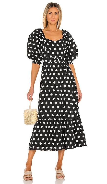 RUMI ミディ丈ドレス FAITHFULL THE BRAND $319