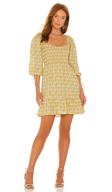 Romina Mini Dress FAITHFULL THE BRAND $239 BEST SELLER