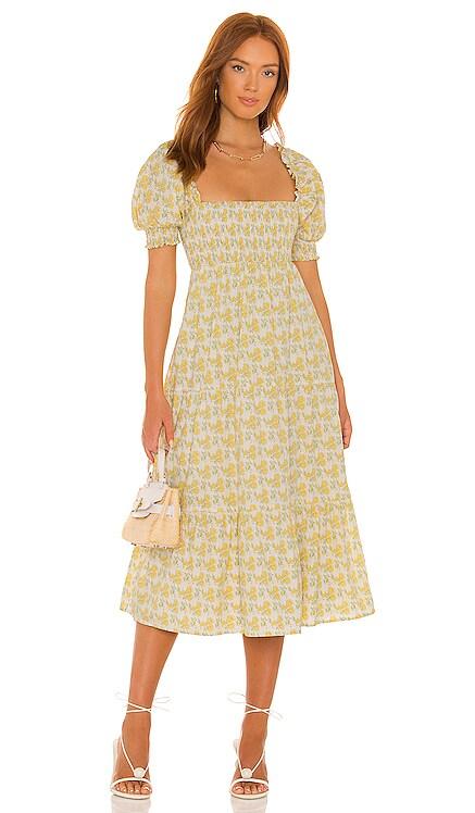 Luisa Midi Dress FAITHFULL THE BRAND $239 BEST SELLER
