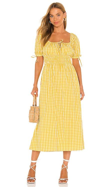 Flora Midi Dress FAITHFULL THE BRAND $229