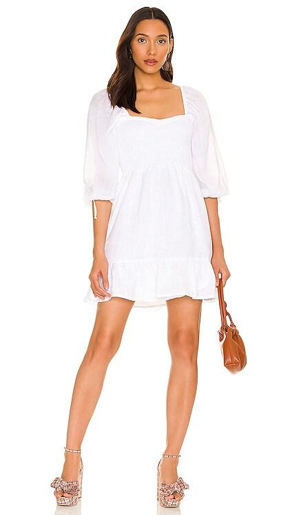 Romina Mini Dress FAITHFULL THE BRAND $239 NEW