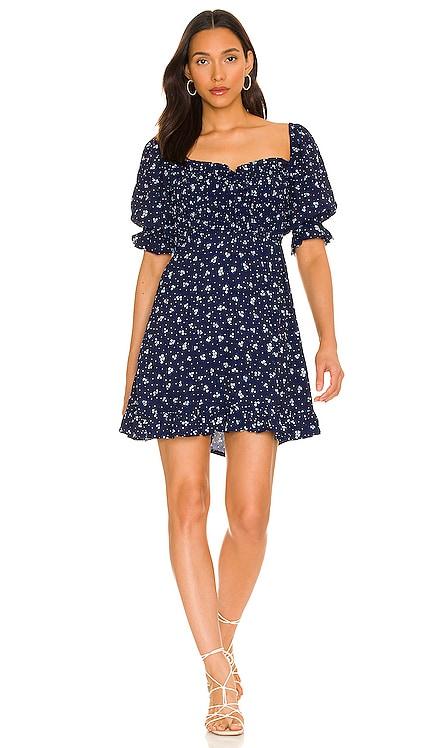 X REVOLVE Sage Mini Dress FAITHFULL THE BRAND $179 NEW