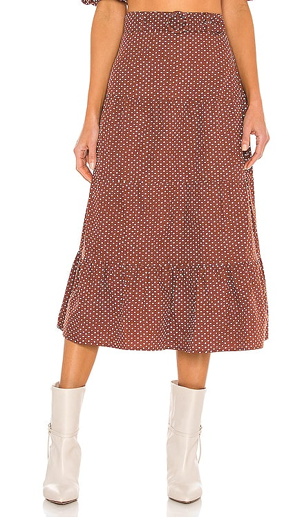 Farida Midi Skirt FAITHFULL THE BRAND $169