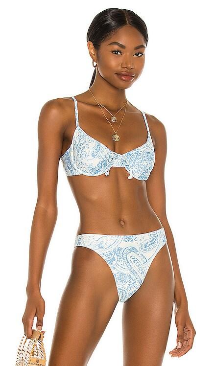 Sariska Bikini Top FAITHFULL THE BRAND $95 NEW
