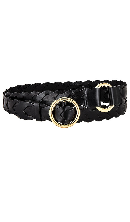 Braided O Ring Double Wrap Belt FRAME $245 NEW