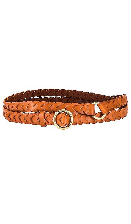 Braided Petit O Ring Double Wrap Belt FRAME $235