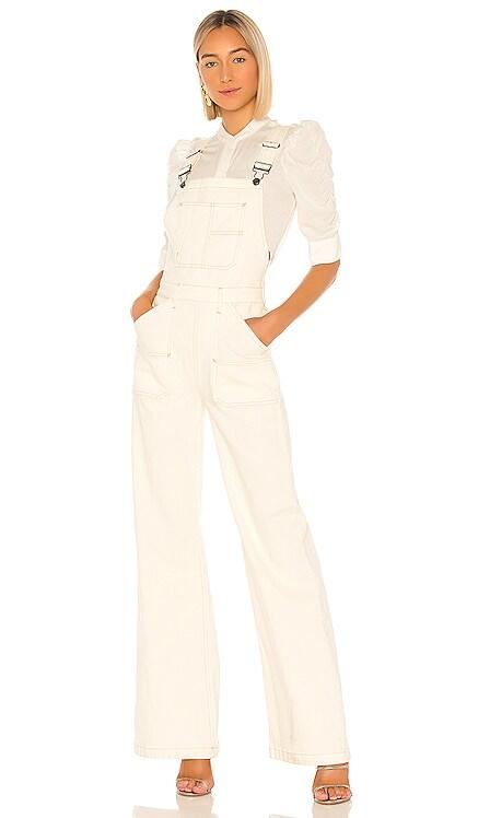 Carpenter Color Jumpsuit FRAME $325