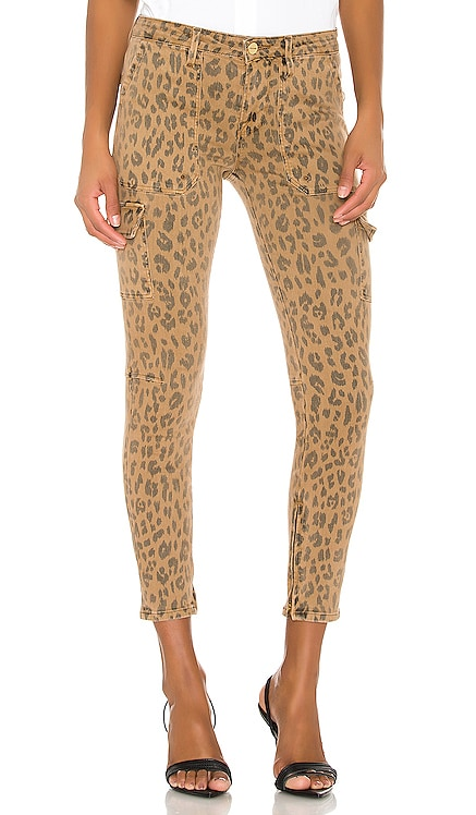 Cargo Skinny Spring Cheetah FRAME $149